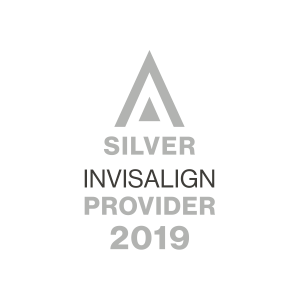 2019 Silver Invisalign Provider logo